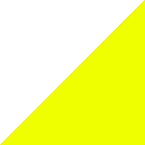 White - Yellow Fluo