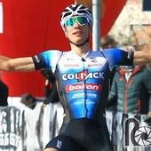 Primo ieri nel Trofeo Piva, primo oggi nel Giro del Belvedere. Eccezionale @juann_ayuso @teamcolpackballan che firma una splendida doppietta. Bravissimo!♥️💪🏻♥️