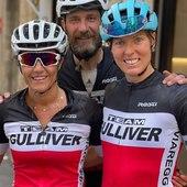 ♥️ @teamgulliverbike   Repost from @michelasantinileila  Sicuramente i più belli e ben vestiti! Ale' team Gulliver! Un secondo posto di categoria che mi fa sorridere e stare bene. Peccato partire in fondo alla banda con il numero 5859 😛. Però e' stato bello 🤩🚴♀️